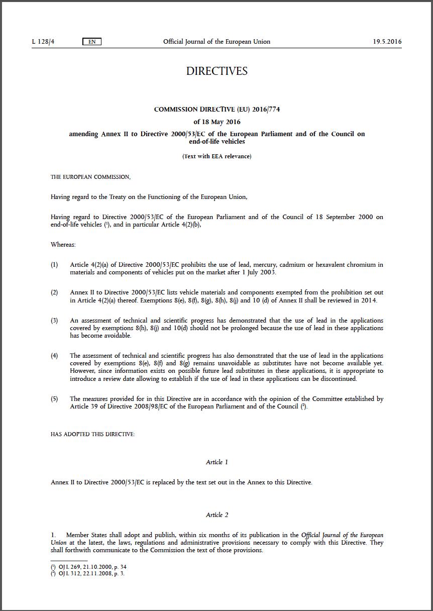 directive 2000 53 ec